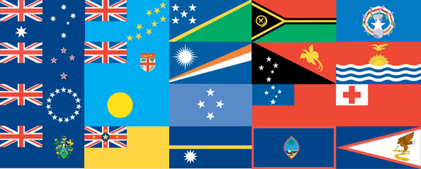 Pacific Flags